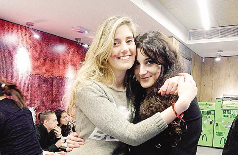 Greta e Vanessa, il volto migliore.